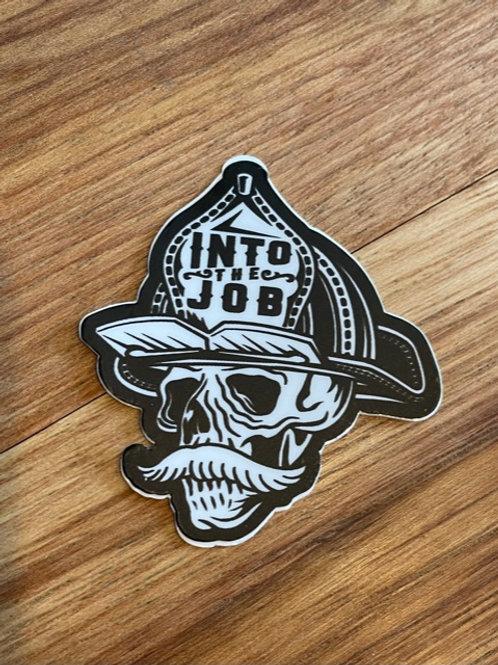 (2 Pack) Into the Job Helmet Sticker