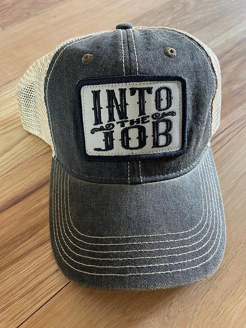 Into The Job Khaki Patch Hat