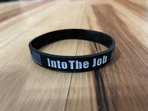 Into The Job/TMBL rubber wrist band