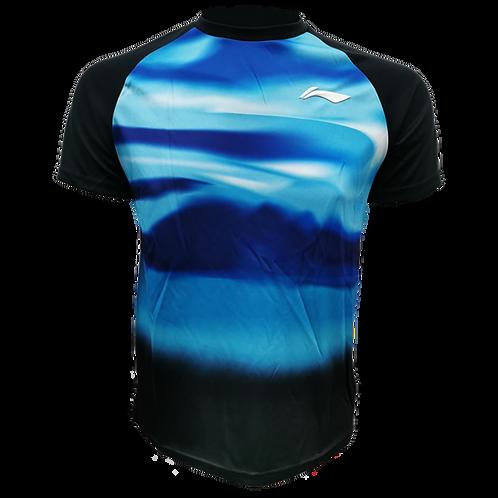 LI-NING Round Neck T-shirt (ATSN497-2 Light Blue)