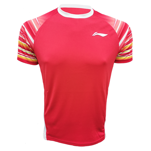 LI-NING Round Neck T-shirt (ATSP4326-1 Red)