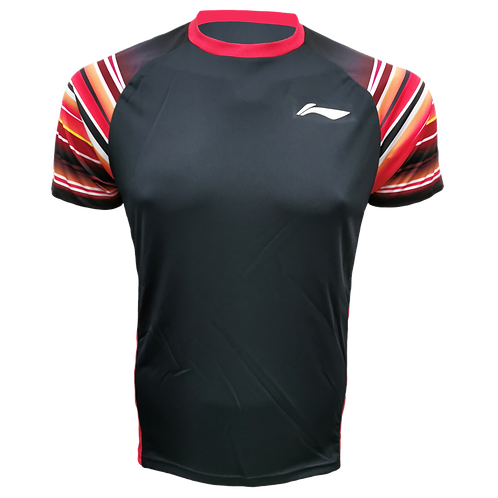 LI-NING Round Neck T-shirt (ATSP4326-1 Black)