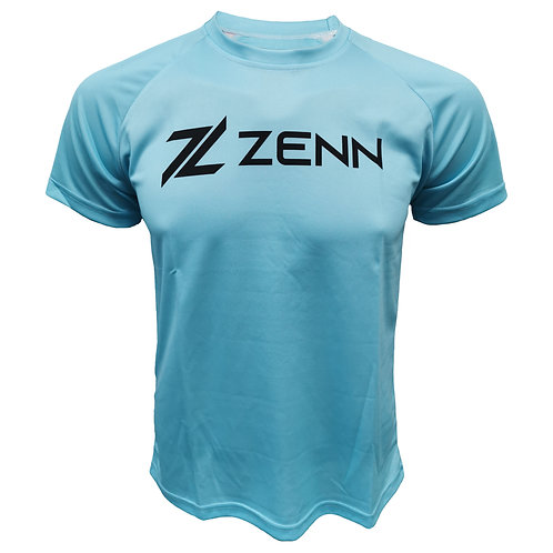 ZENN Training Round Neck T-shirt (ZRNT1906-1 Blue)