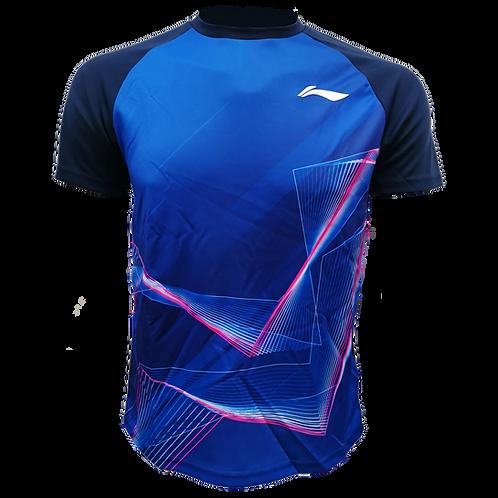 LI-NING Round Neck T-shirt (ATSN499-3 Blue)
