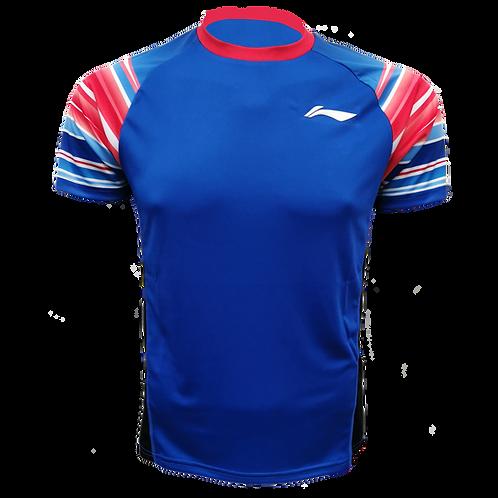 LI-NING Round Neck T-shirt (ATSP326-4 Blue)