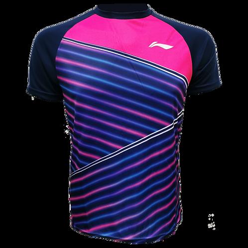 LI-NING Round Neck T-shirt (ATSN495-2 Pink)