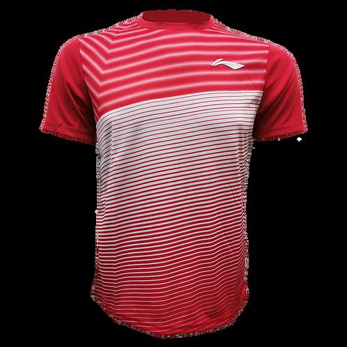 LI-NING Round Neck T-shirt (ATSN493-2 Red)