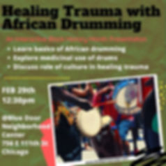 African Drums for Resistance & Healing (