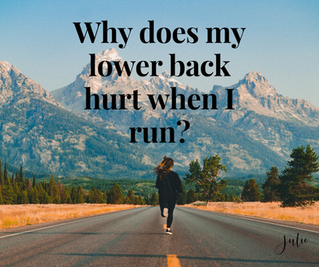 Why Does My Back Hurt When I Run?