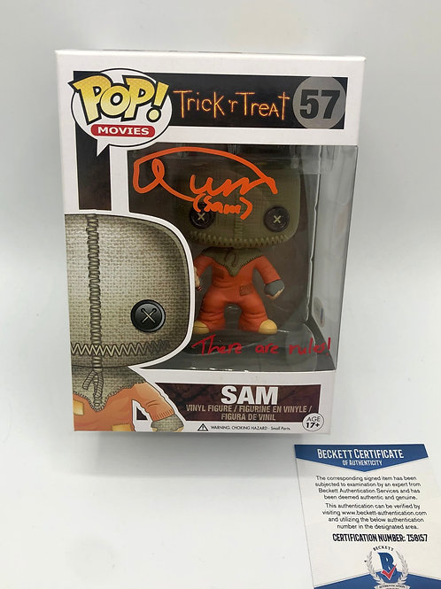 SAM Vaulted Pop Signed by Quinn Lord Trick R Treat