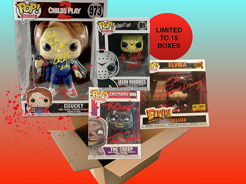 HORROR STARS SIGNED POP MYSTERY BOX