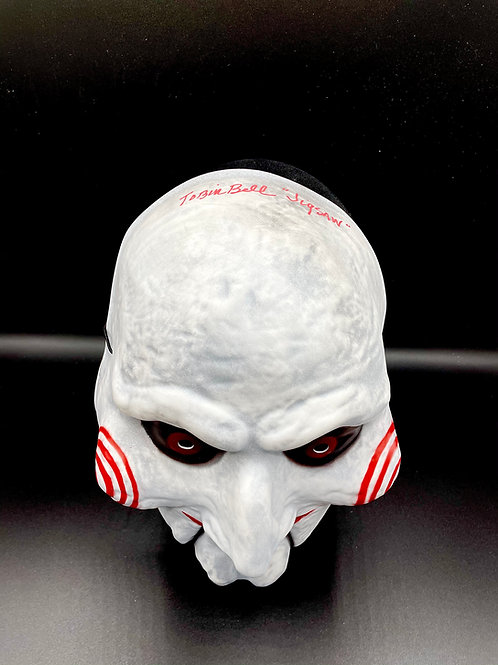 Tobin Bell Signed Billy Mask from SAW