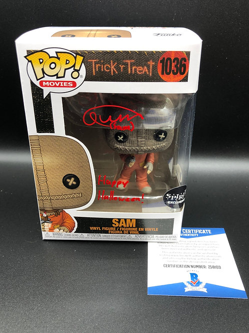 """Quinn Lord Signed Funko Pop """"Happy Halloween!"""" With Beckett COA"""