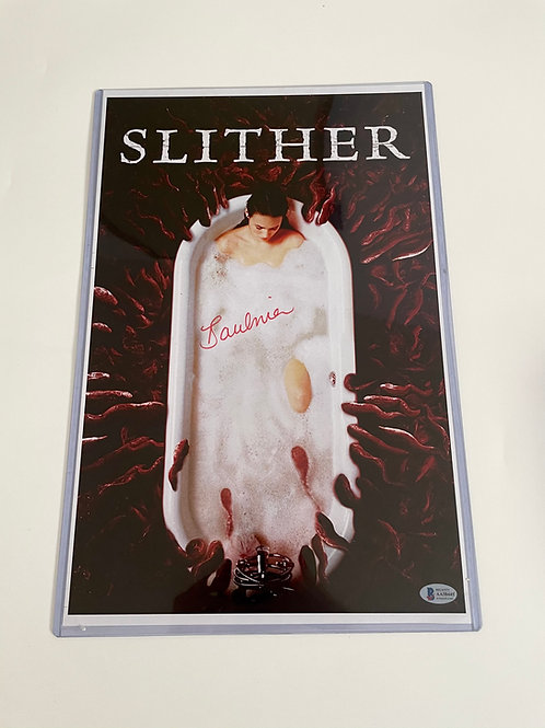 Tania Saulnier Signed Slither 11x17 Poster
