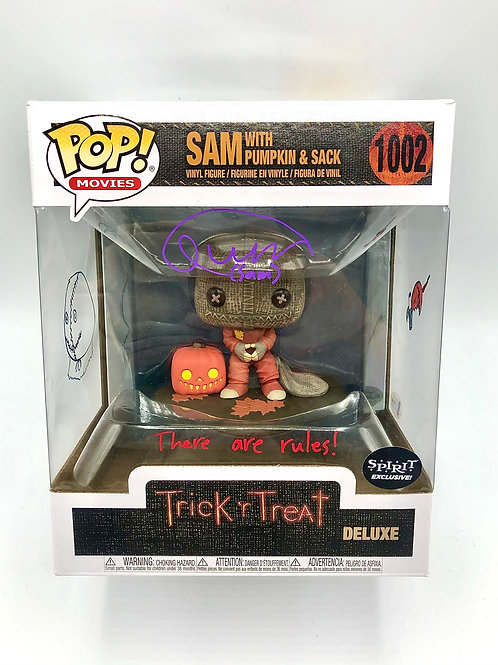SAM Deluxe Pop Signed by Quinn Lord with Original Art
