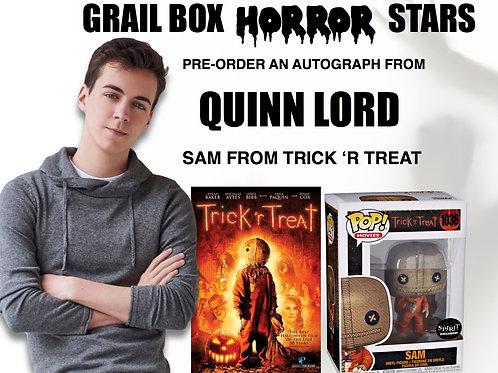 Quinn Lord Autograph Pre-Order