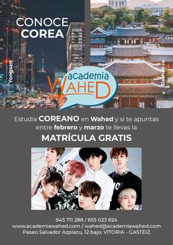 Wahed-matricula coreano 20