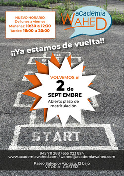Wahed-cartel vuelta al cole-sept 19