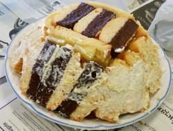 Tarta de bizcocho y piña