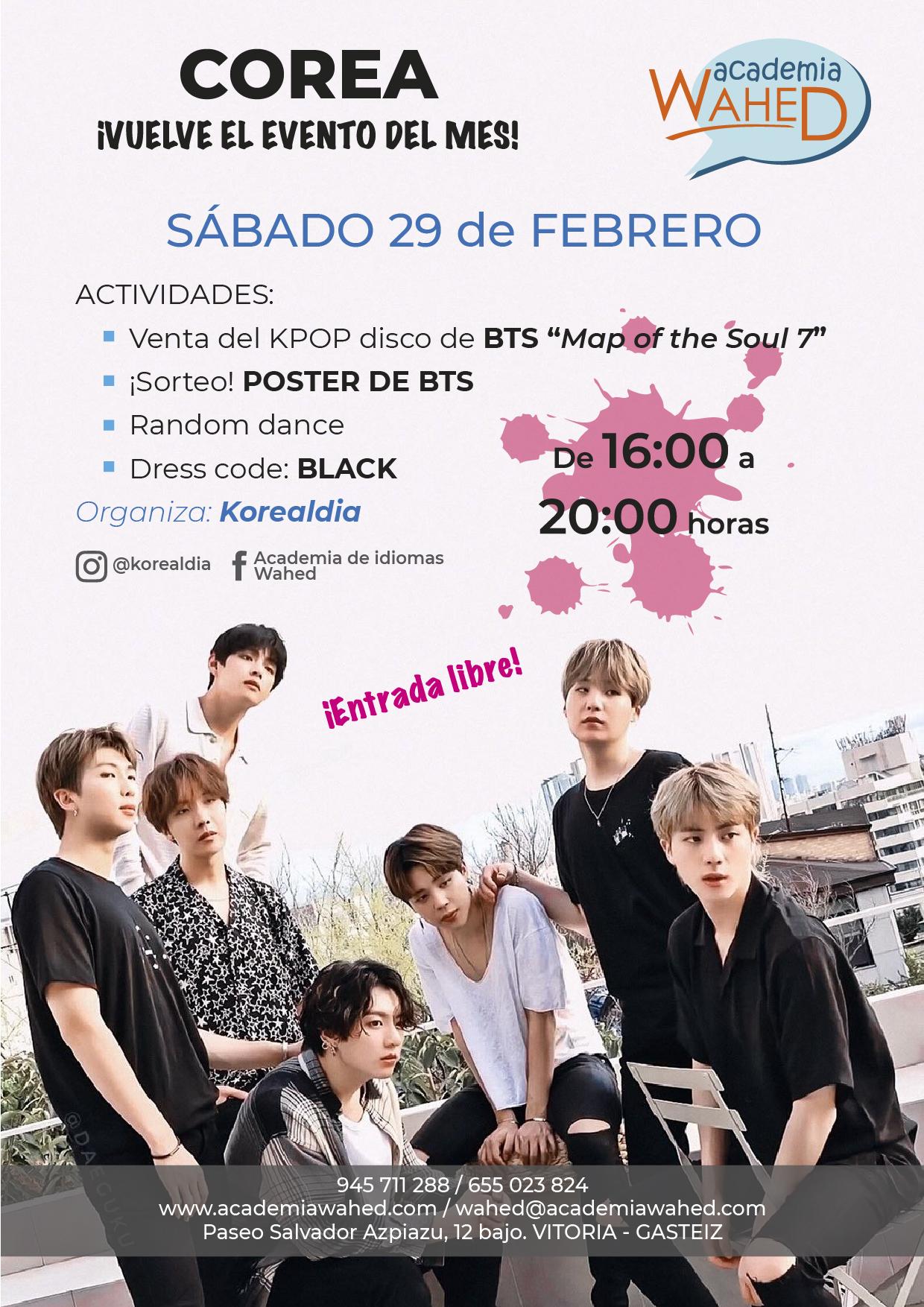 Wahed-evento coreano febrero 20