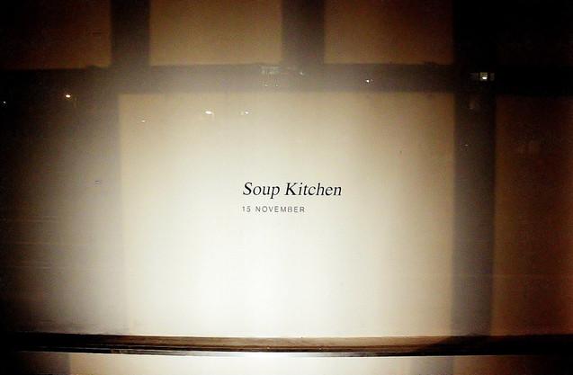 Inaugural Soup Kitchen