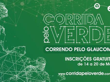 """""""Corrida pelo Verde – Correndo pelo Glaucoma"""" acontece no dia 27 de maio, em São Paulo"""