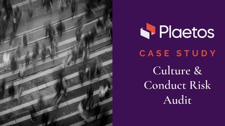 CASE STUDY: A Global Insurance Company's Culture Risk Audit