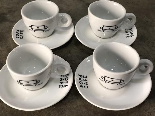 Xícaras espresso [cj com 4]