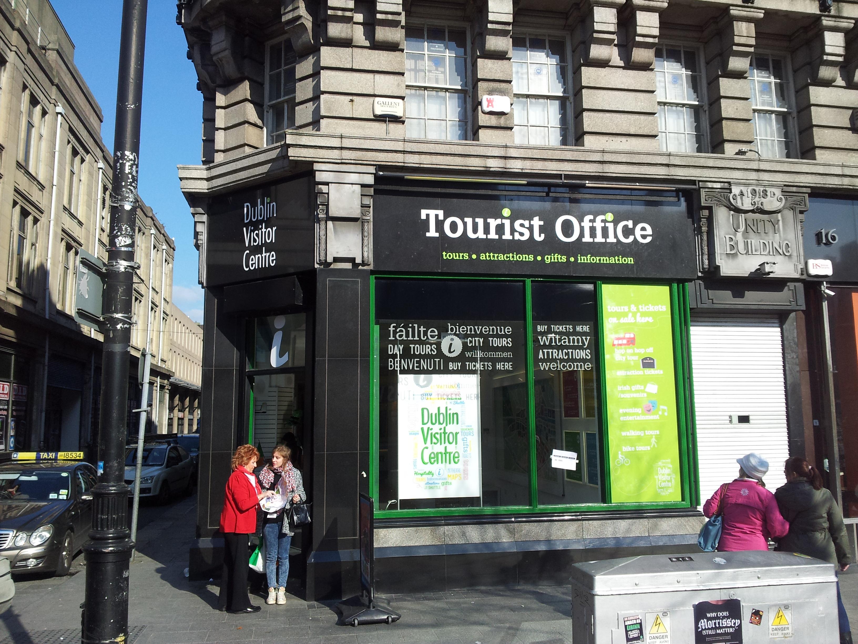 Vinyl Shop Front Tourist Office