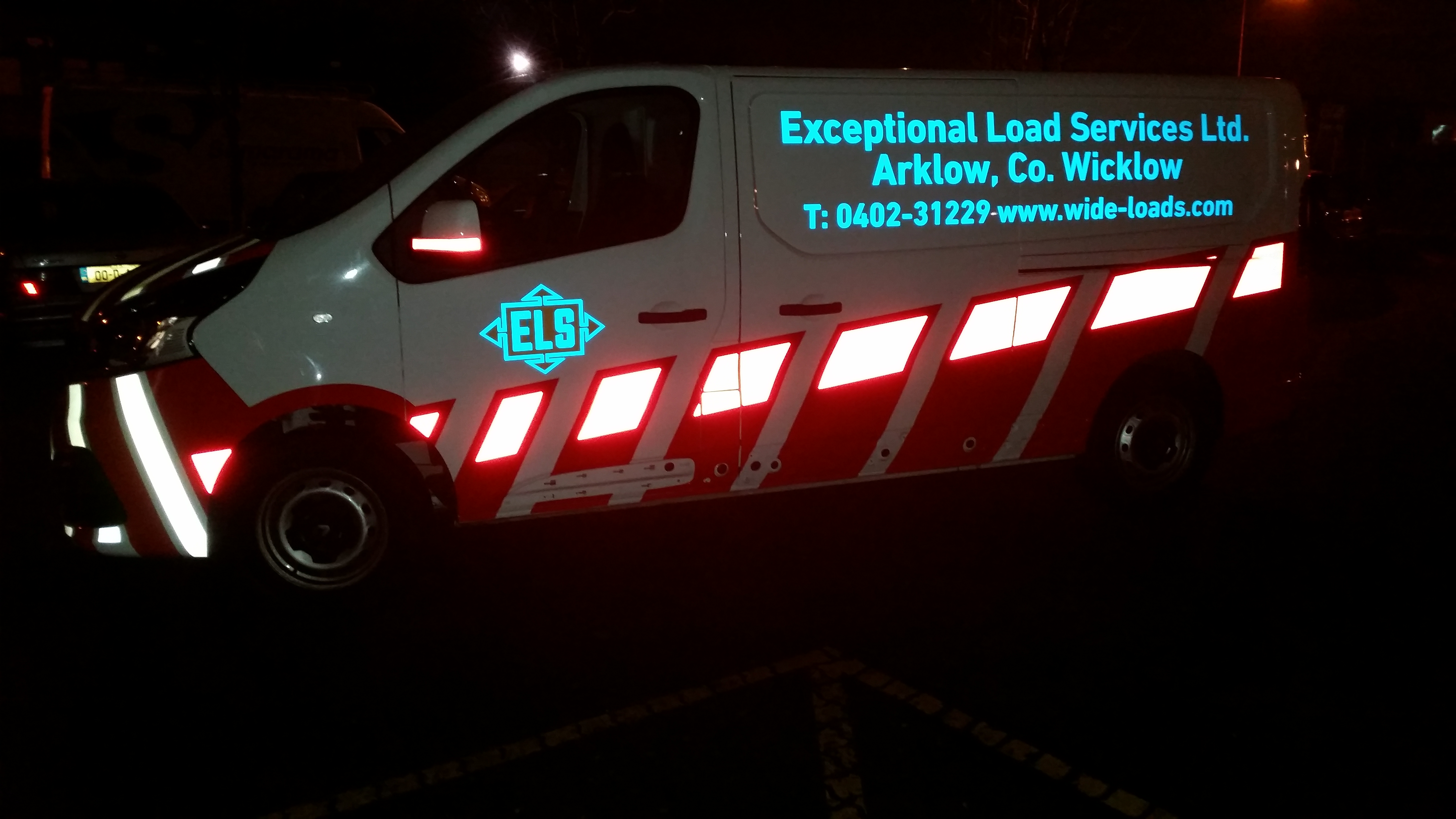 Vehicle Graphics_Reflective & Floresent Night Time