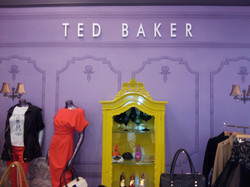 Ted Baker Purple Wall Print