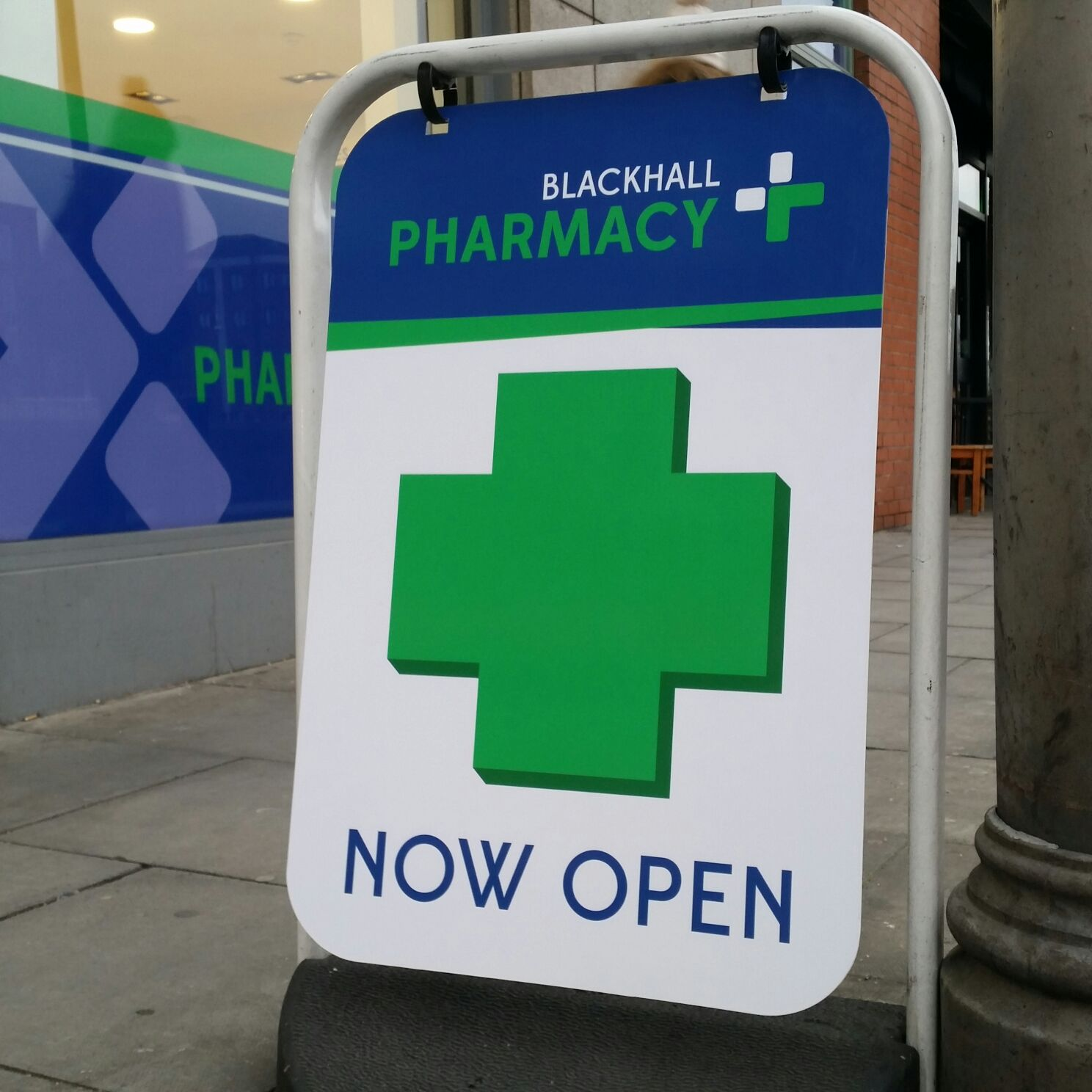 Pharmacy_ Pavement Sign_ Street Sign