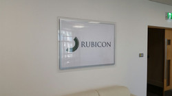 Acrylic Name Business Plaque