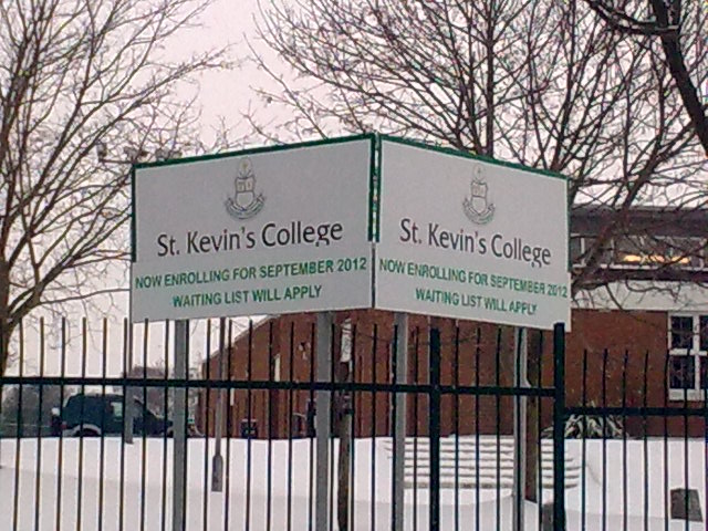St Kevins Outdoor signs
