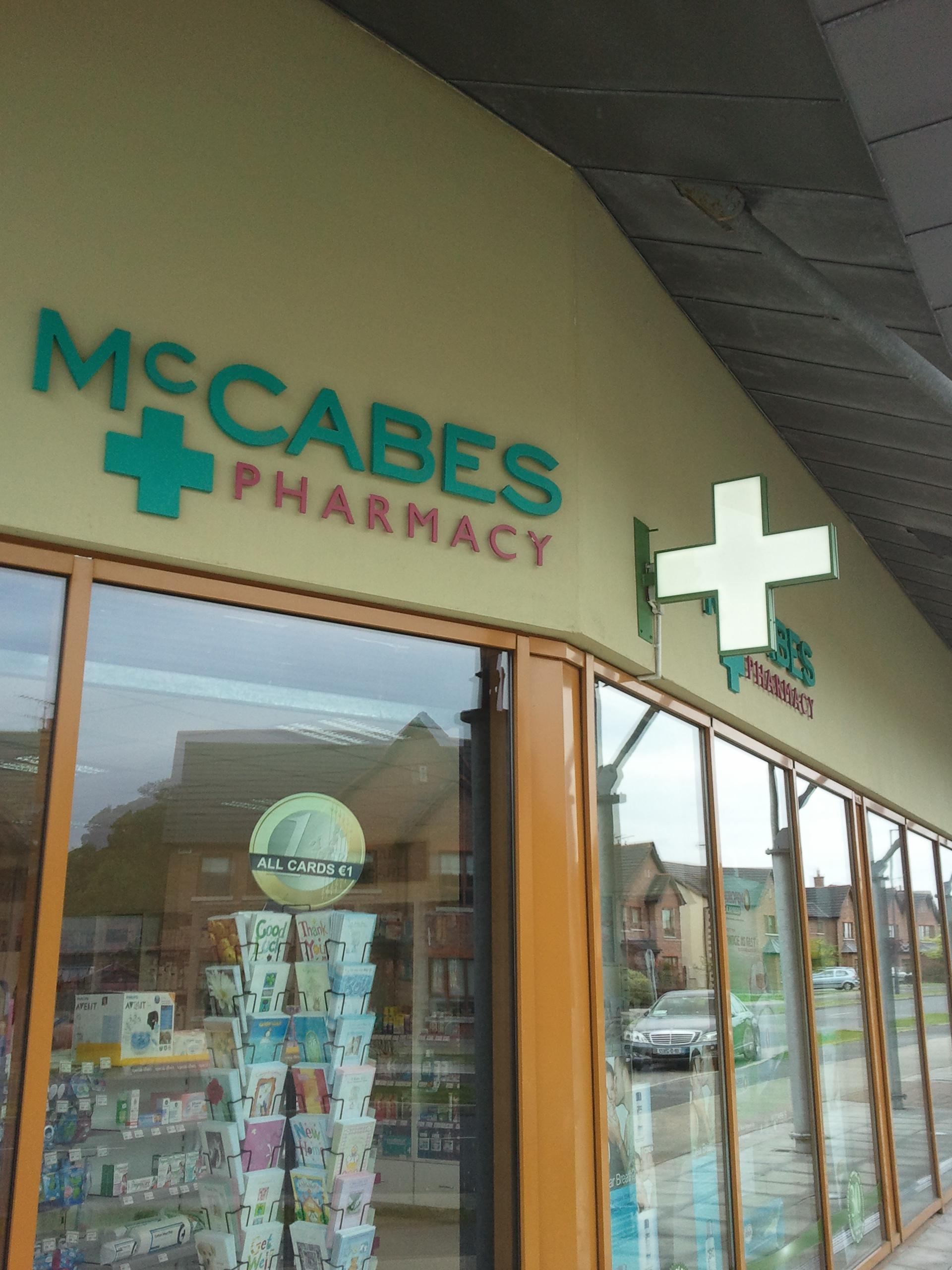 Pharmacy Cross - Projecting, Double Sided Pharmacy Green Cross