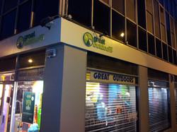 Foam Lettering Shopfront