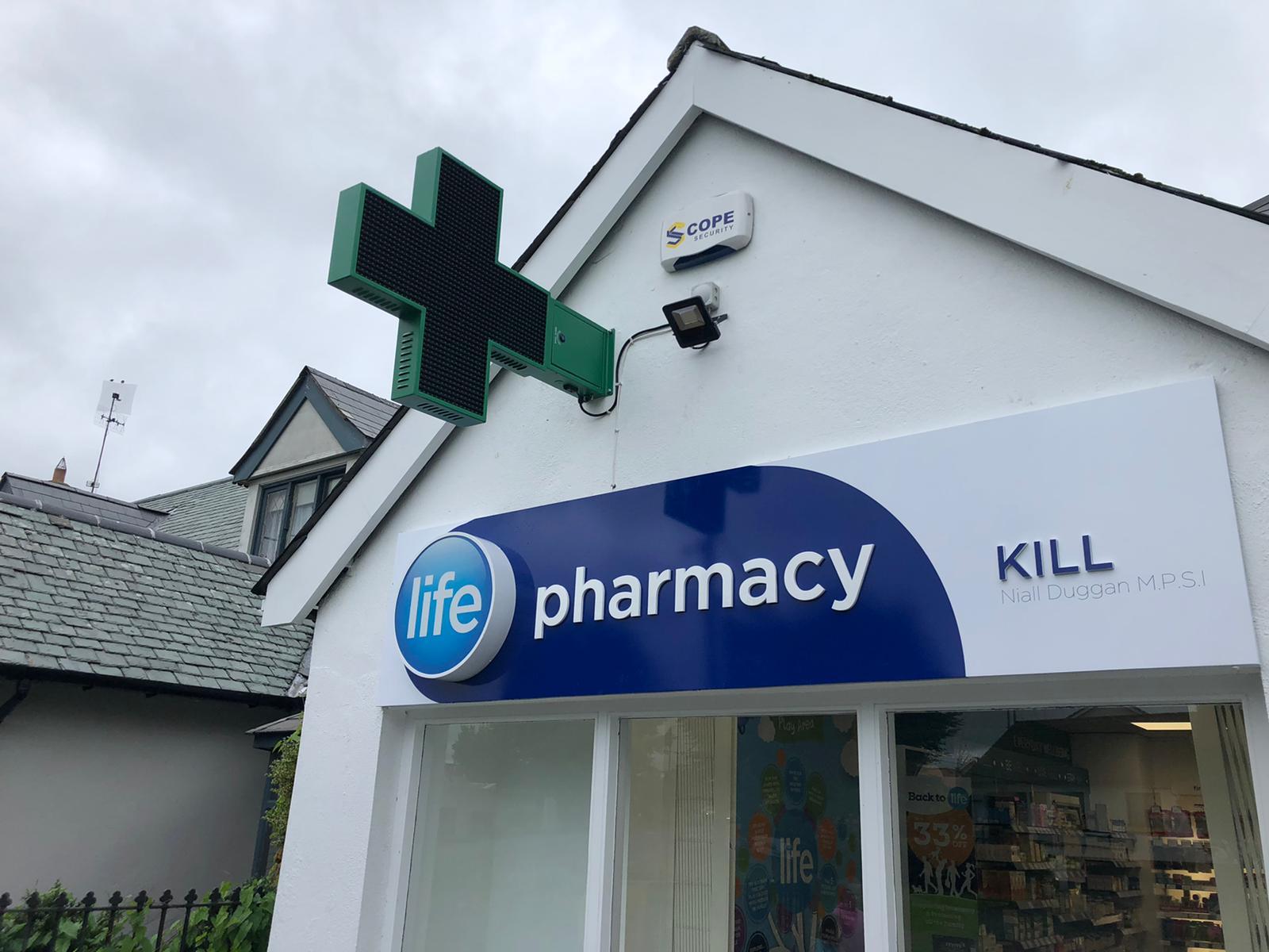 lightbox pharmacy signage