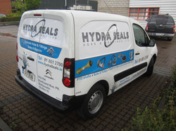 Vehicle Branded with Printed Product Images