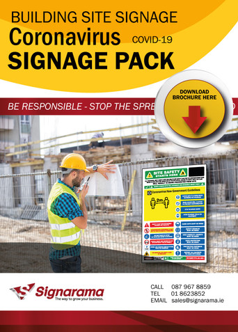 Building Site - Covid19 Signage Requirements