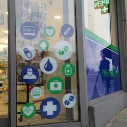Pharmacy_Window Graphics_Icon window graphics
