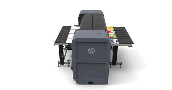 HP Flatbed printer