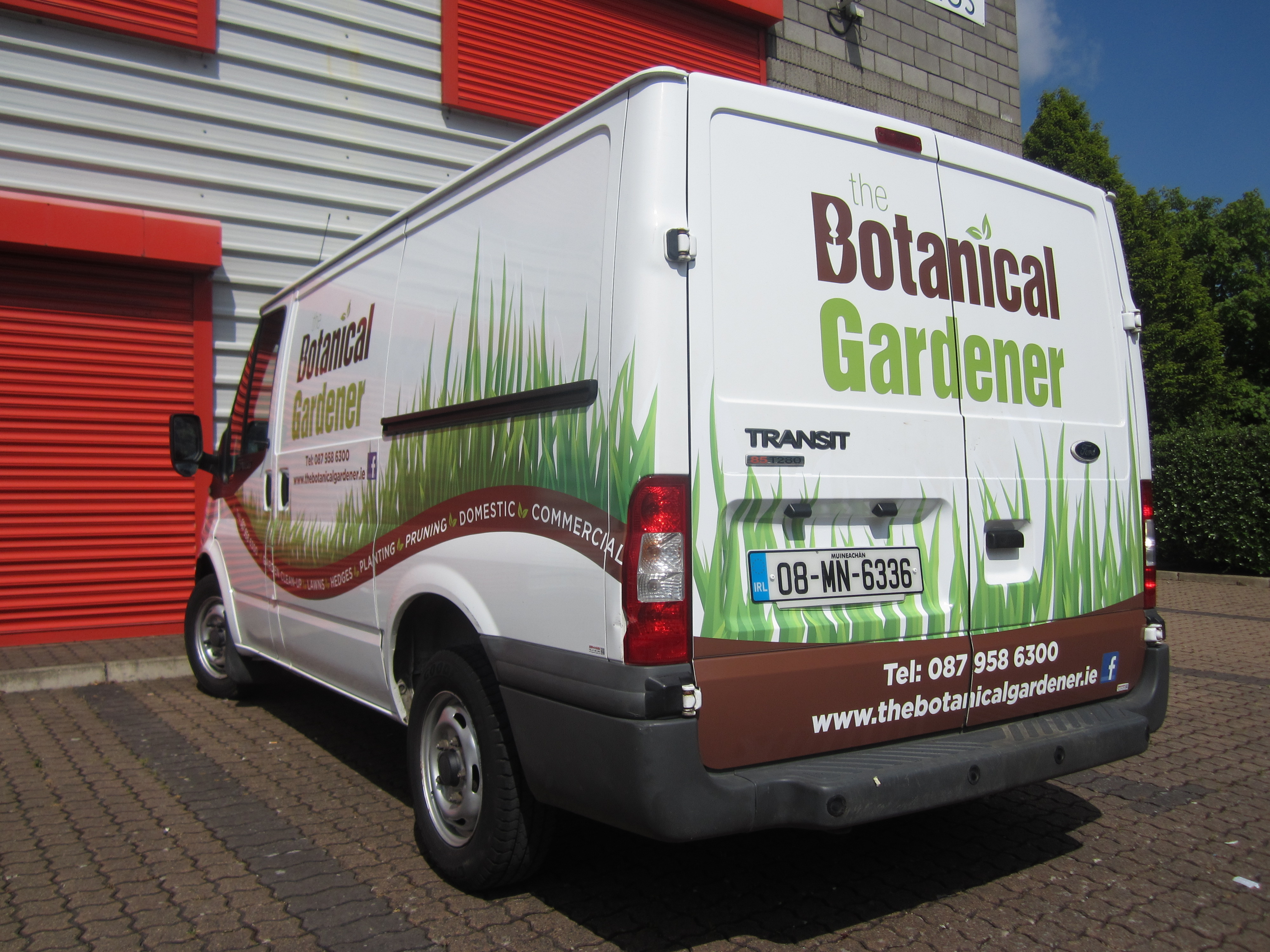Vehicle Branded with Creatively Designed Printed Graphics