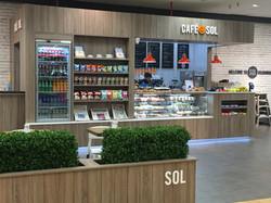 Sol Coffee Shop Front Signage Foam