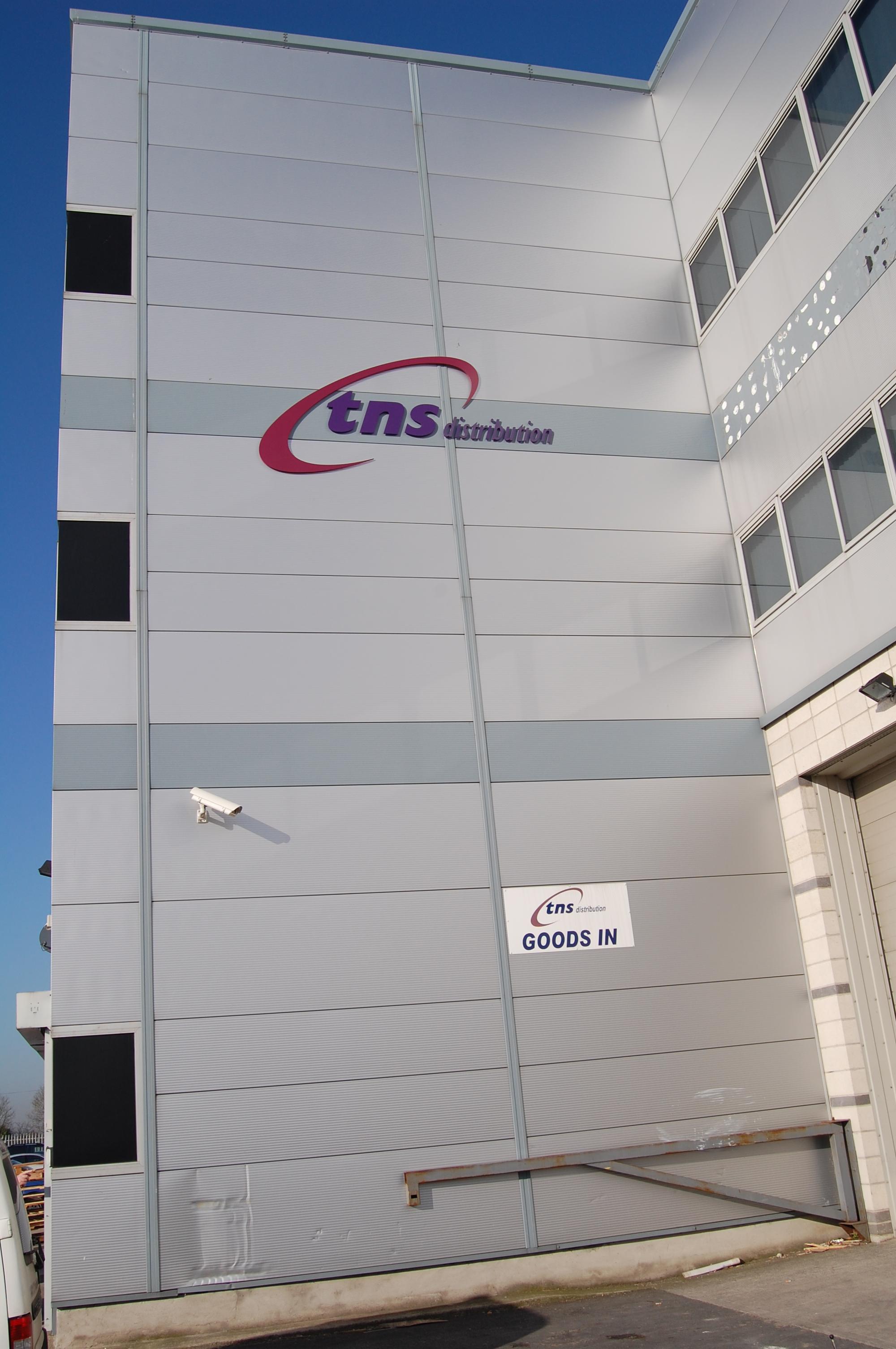3D Letters Industrial Unit Signage