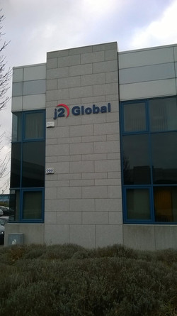 3d acrylic Industrial Unit Signage