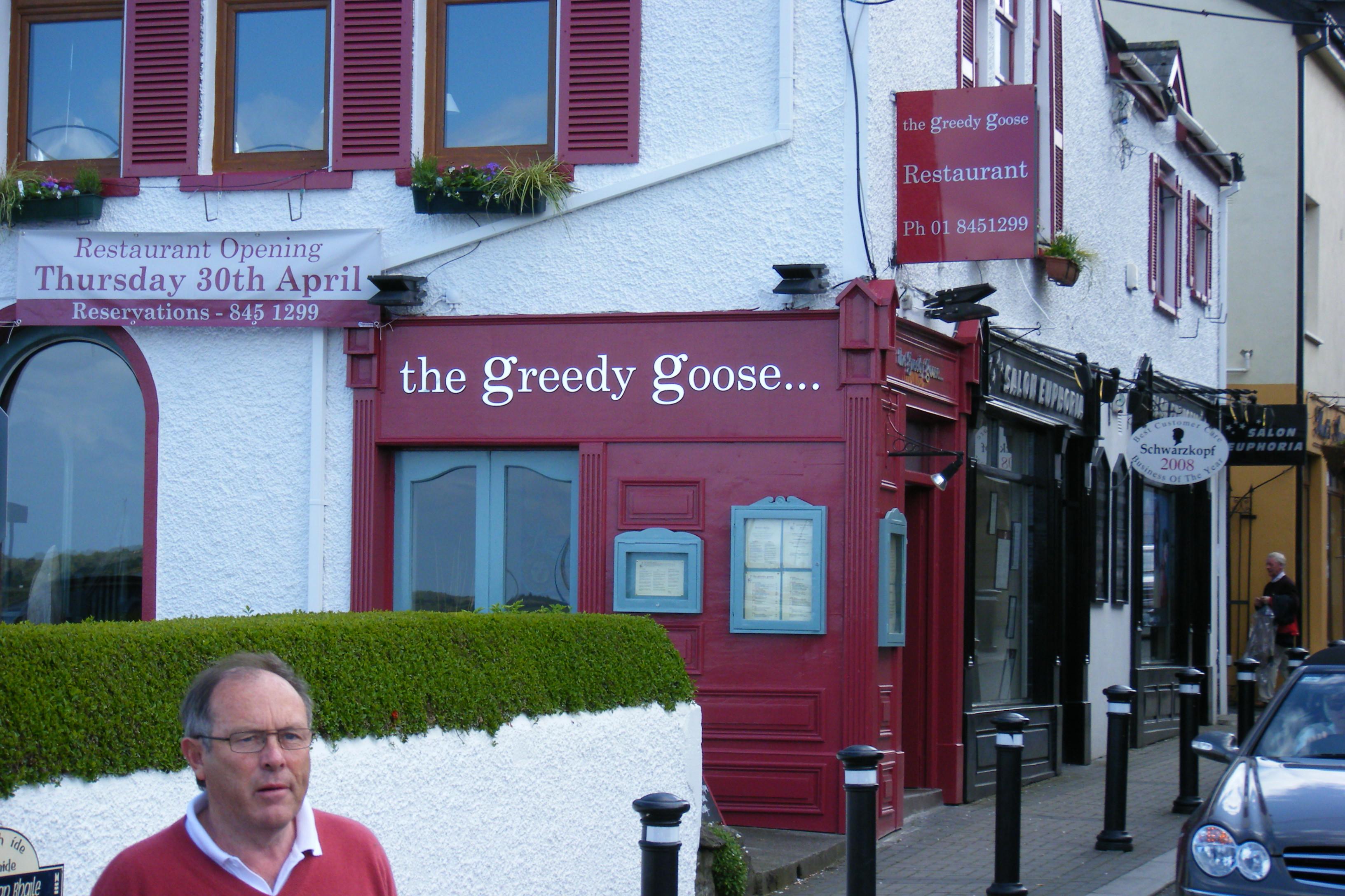 The Greedy Goose Shop front Foam PVC