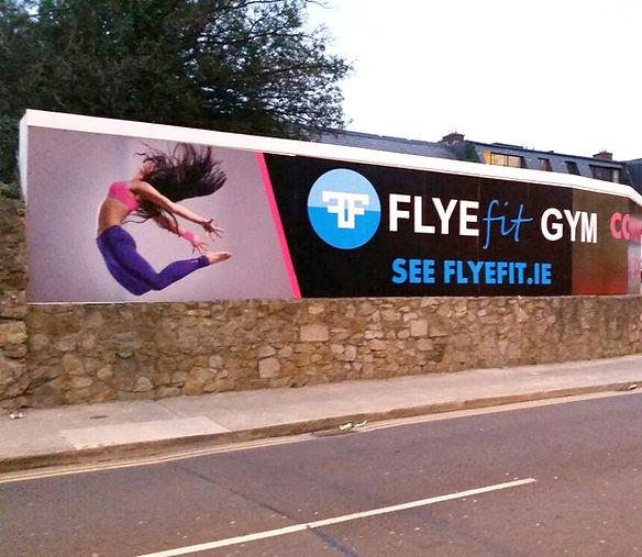 Flye Fit Drundrum Hoarding panel