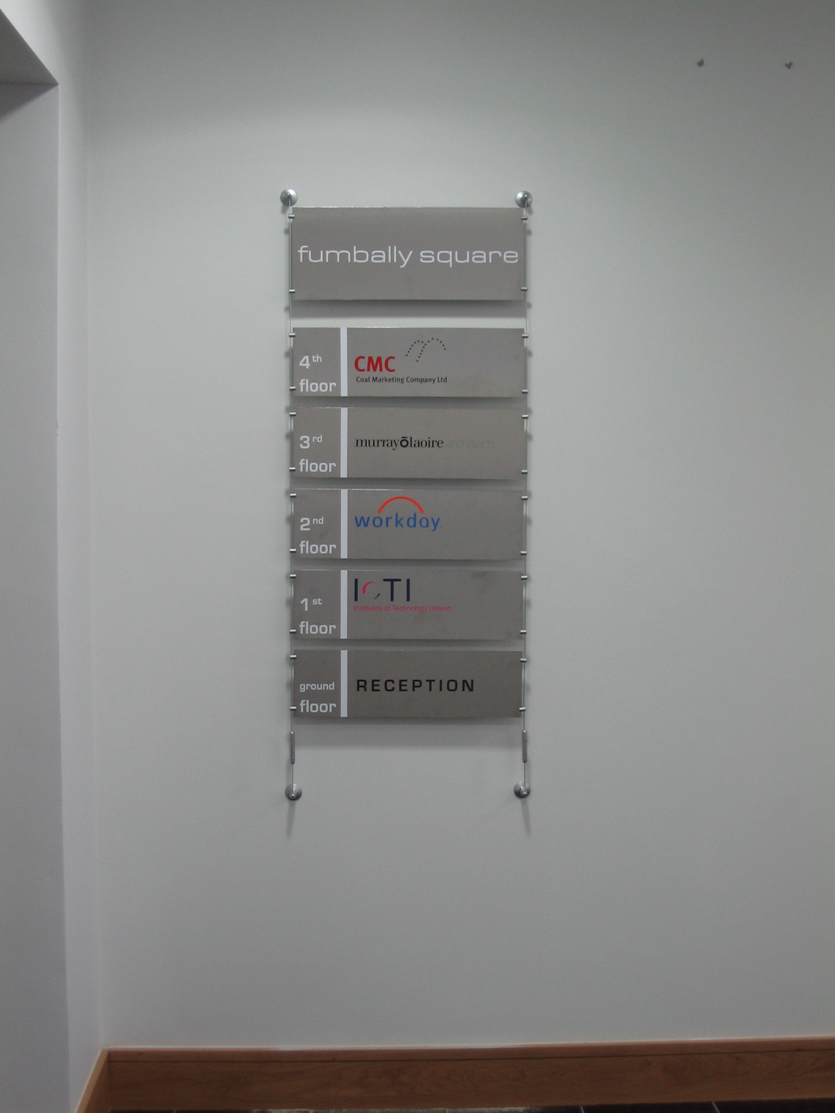 Custom Made Brushed Steel Directory