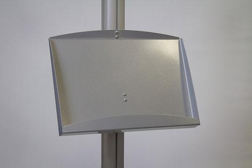 Free Standing Modular Display with Steel Shelf