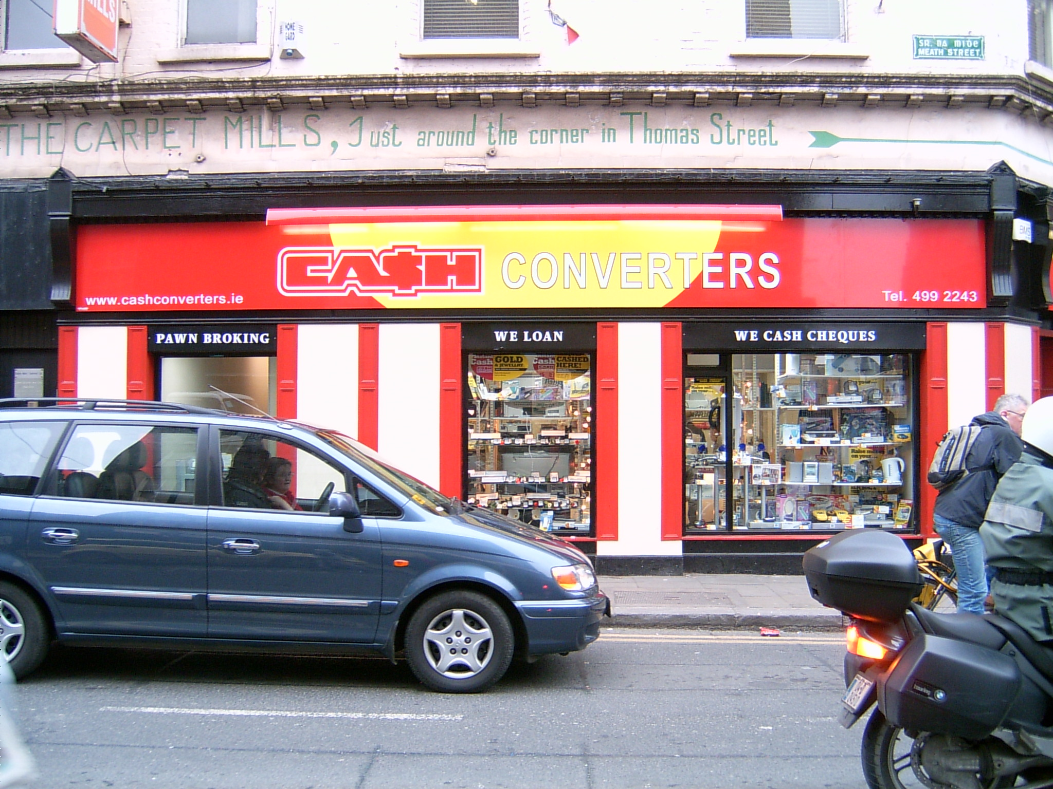 Flat Calander Vinyl Shop Front_3 Colours Red, Yellow & White